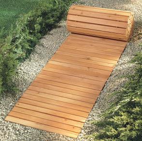 Покрытия для садовых дорожек